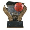 Basketball Wreath Resin 6